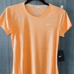 Nike Running Womens Challenger Dri-Fit Tee T-Shirt